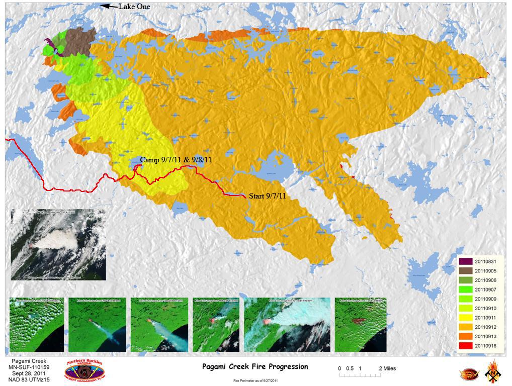 Bwca Fire Map.Bwca September 2011